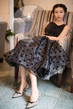 2016 Best quality low price Pretty and colorful long skirt models