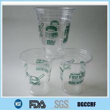 christmas PET plastic cup,cup for liquor,plastic cup snowman