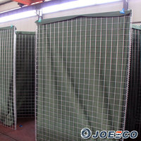 2015 Hot sale galvanized welded gabion hesco wall