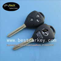 Top Quality 3 button car remote key for toyota smart key toyota corolla key 433Mhz