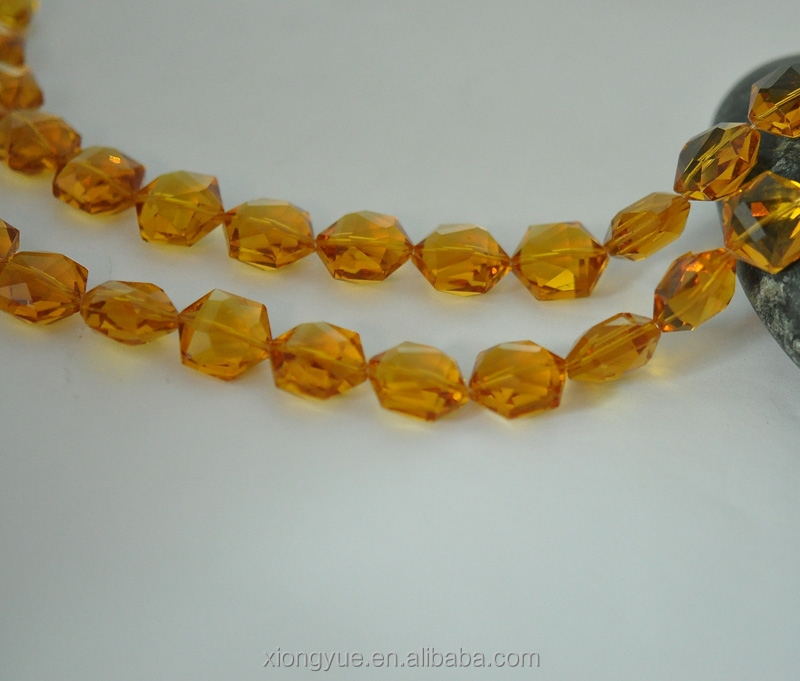 Wholesale orange natural crystal beads seed beads used for for Natural seeds for jewelry making