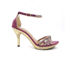 1200 styles patent leather sexy wedge heel shoes