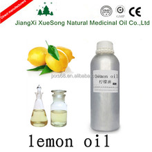 Bulk lemon oil in essential as the good massage Oil and food additive in China