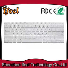 Most Popular Dustproof Silicone Keyboard Skin Case Cover For Apple Macbook Pro Air