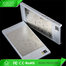 new product metal coating pc case cover for xiaomi mi3 m3