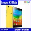 New Original lenovo K3 Note k50 t5 5.5 Inch 1920*1080 Octa Core,4G LTE FDD 2GB Ram 16GB rom Camera 13.0MP 3000mAh