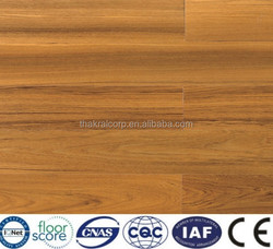 Hot Sale ORTECH 15MM WDE-Q103 Teak UV Lacquer Engineered Flooring