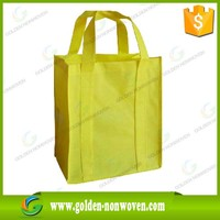 custom foldable nonwoven shopping bag with your logo, pp spunbond nonwoven fabric bag, nonwoven bag OEM