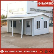 2015 the latest design withstand wind hot sale well insulated prefabricated house