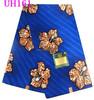 UH161 latest design wax fabric ankara fabric for dresses