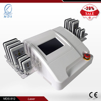 loss weight 650nm 10 pads lipo laser beauty machine for fat reduce