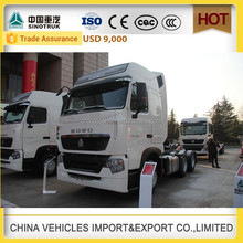 CHINA SINOTRUK ZZ4257V324HD1B HOWO-T7H used truck Truck Tractor tractor towing hitch