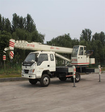 8 Ton Truck Crane with Telescopic Boom from Expert Manufacturer