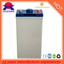 2v200Ah GE200-2 gel battery deep cycle solar battery silicon in storage battery