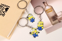 Gift Items For Children Despicable Me Minions Keychain Metal Keychain