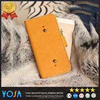 China suppliers luxury for samsung galaxy grand duos i9083 leather case