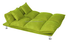 Fashion Suede sofa cum bed / folding sofa B153b