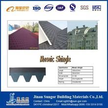 China Manufacturer Various Type&Color Fiberglass Asphalt Shingle