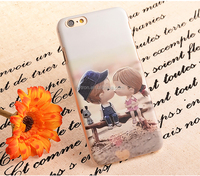 Wholesale Transparent Tpu Back Funky Mobile Phone Case For Iphone6 Plus