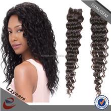 100 percent peruvian remy human hair piece for black women