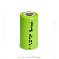 Nimh battery rechargeable nimh SC battery 1.2v 1400mah AAA/AA/A/SC/C/D/F size