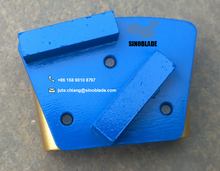 Concrete Floor Polishing Use Diamond Abrasive Segment HTC Diaond Grinding Block