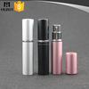 matt silver pink black aluminium spray bottle for perfume