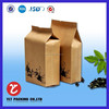 China factory stand up waterproof paper bag, food kraft paper bag made from China