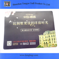 2015 promotional mouse pad with OEM printing