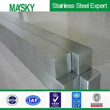 430 stainless steel square bar 6m length in hairline