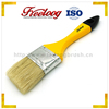 household decorative paint brush, white bristle paint brush wooden handle