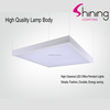 CE and ROHS approved high quality 30W 600x600 back lit square led panel light with Lifud driver
