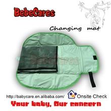 Portátil personalizado cama de bebê impermeável forro