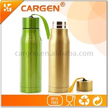 Low price stocked a lot 304 food grade stainless steel water bottle