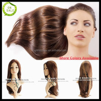 Ali Trade Assurance Paypal Accepted Factory Price Soft Smooth 100% European Remy Hair Professional Jewish Kosher Human Hair Wigs