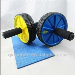 Two Wheels Push-ups Device / ab slider exercises (indoor fitness equipment.)