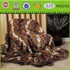 100% Polyester super soft PV fleece blanket and throw,faux fur blanket