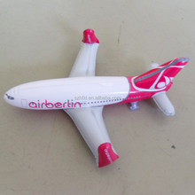 60cm length pink inflatable airplane model for Children