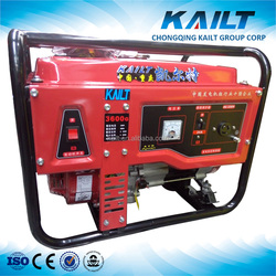 5kw/ 5kva portable gasoline/ gas power generator for home use, made in Chongqing
