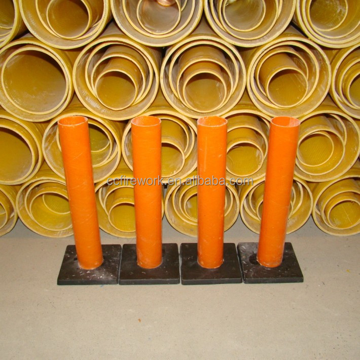 how to make mortar tubes for fireworks