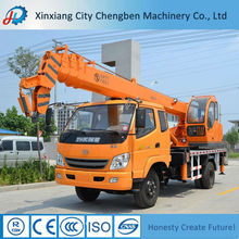 Your First Reliable Choice 10 Ton Hydraulic Mobile Truck Crane