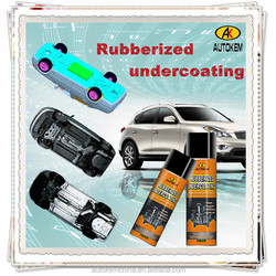 Autokem rubberized undercoating, undercoating spray paint, rubberized undercoating/chassis spray, car care products