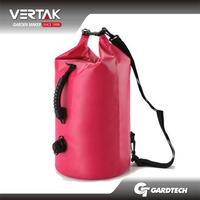 40L pvc outdoor waterproof waterproof backpack dry bag with 2 straps