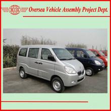 Euro IV Standard 8 Seats Gasoline Engine A/C Van