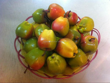 New arrival artificial fruit, home decoration red delicious apple