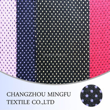wool merino wool fabric with colored dots for women coat and suit