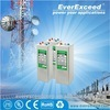 China Hot sell EverExceed Tubular OPzV solar battery 3000ah