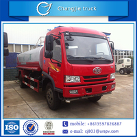 High performance cheap price FAW 4x2 water transporting vehicle