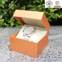 Promotional white watch box with flock insert certificated by ISO,SGS,BV ex factory price!!!