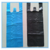 HDPE vest handle bag for packing recyclable t shirt bags plastic bag